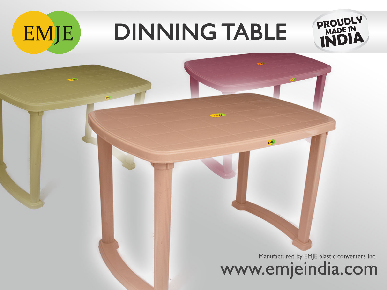 100 Home Furniture Manufacturers In Mumbai Browse  : Plastic Dining tables from mitzissister.com size 1600 x 1200 jpeg 144kB
